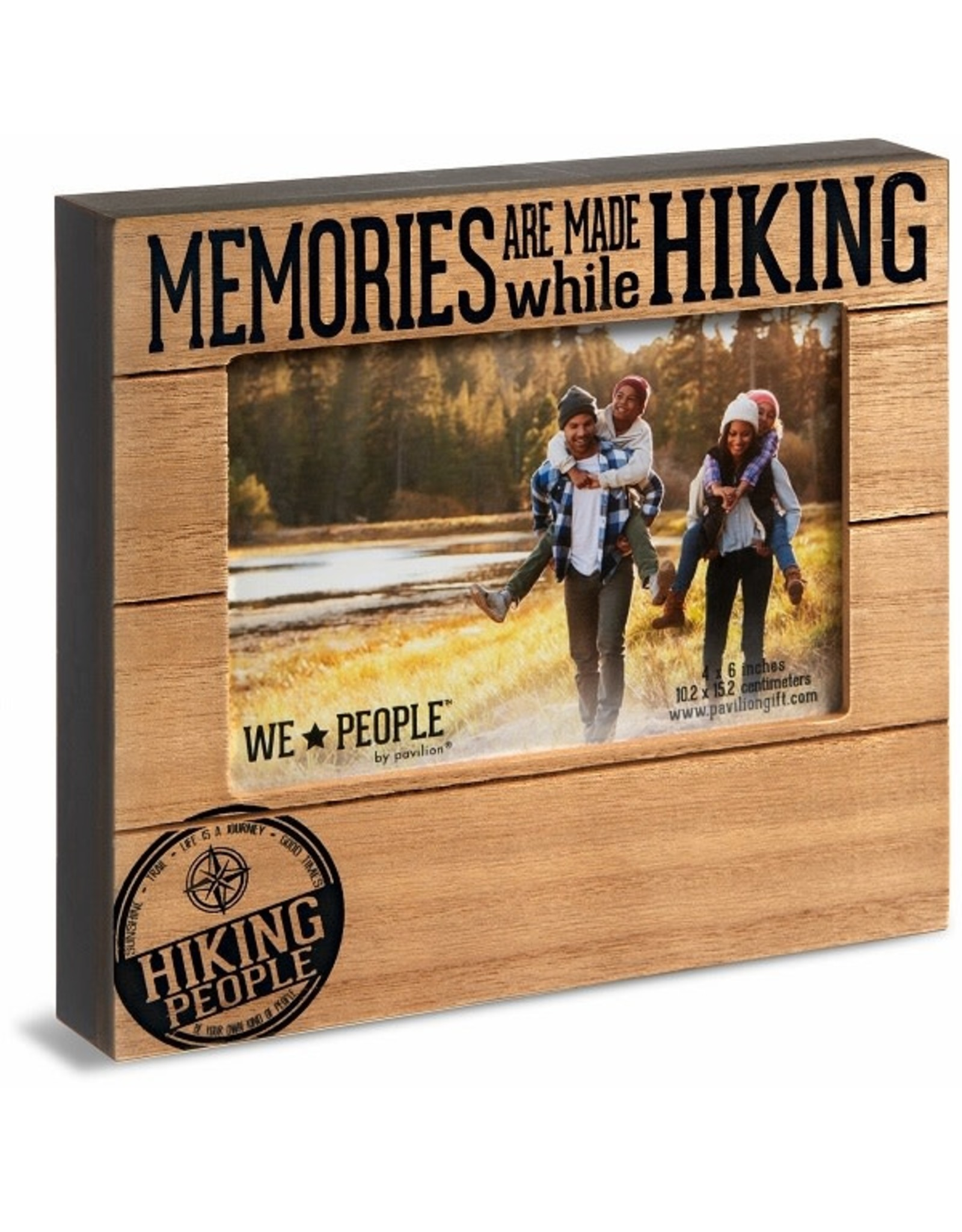 Pavilion Gift HIKING PEOPLE FRAME