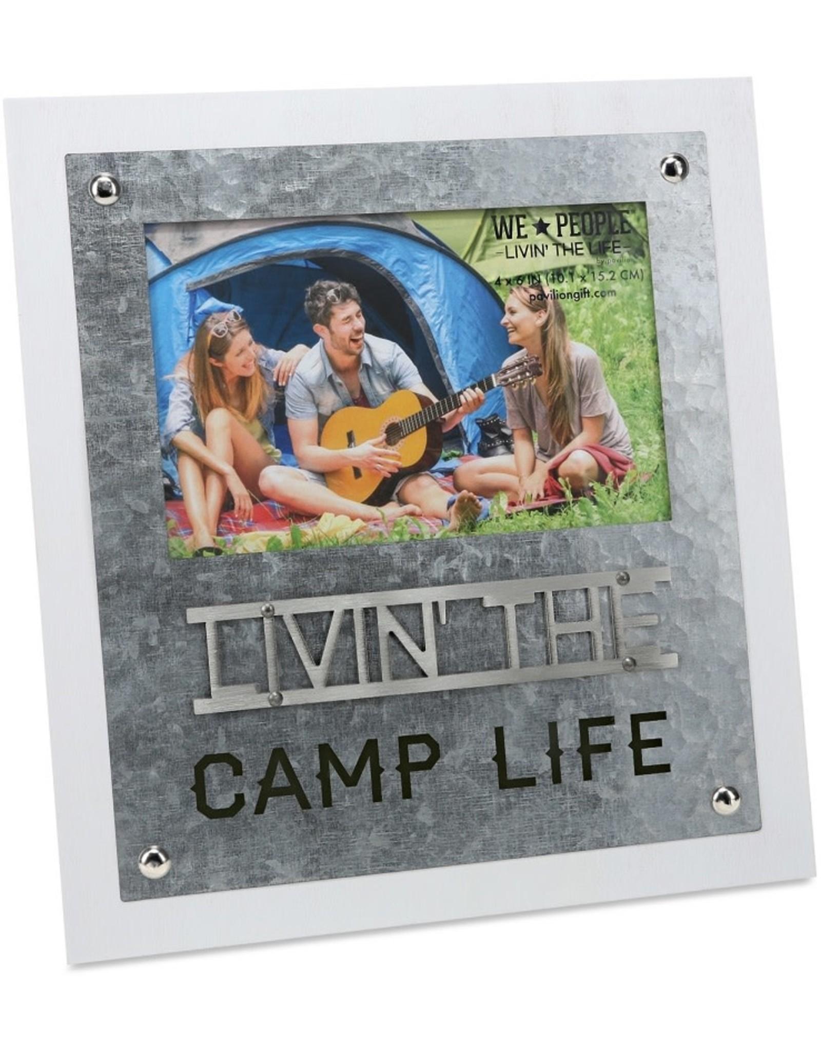 Pavilion Gift LIVIN THE CAMP LIFE FRAME
