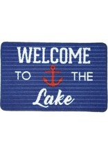 Pavilion Gift WELCOME TO THE LAKE FLOOR MAT