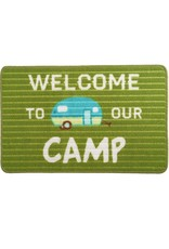Pavilion Gift WELCOME TO OUR CAMP FLOOR MAT