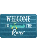 Pavilion Gift WELCOME TO THE RIVER FLOOR MAT