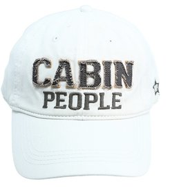 Pavilion Gift CABIN PEOPLE WHITE HAT