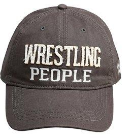 Pavilion Gift WRESTLING PEOPLE GRAY HAT