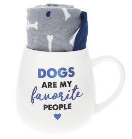 Pavilion Gift DOG MUG AND SOCKS SET