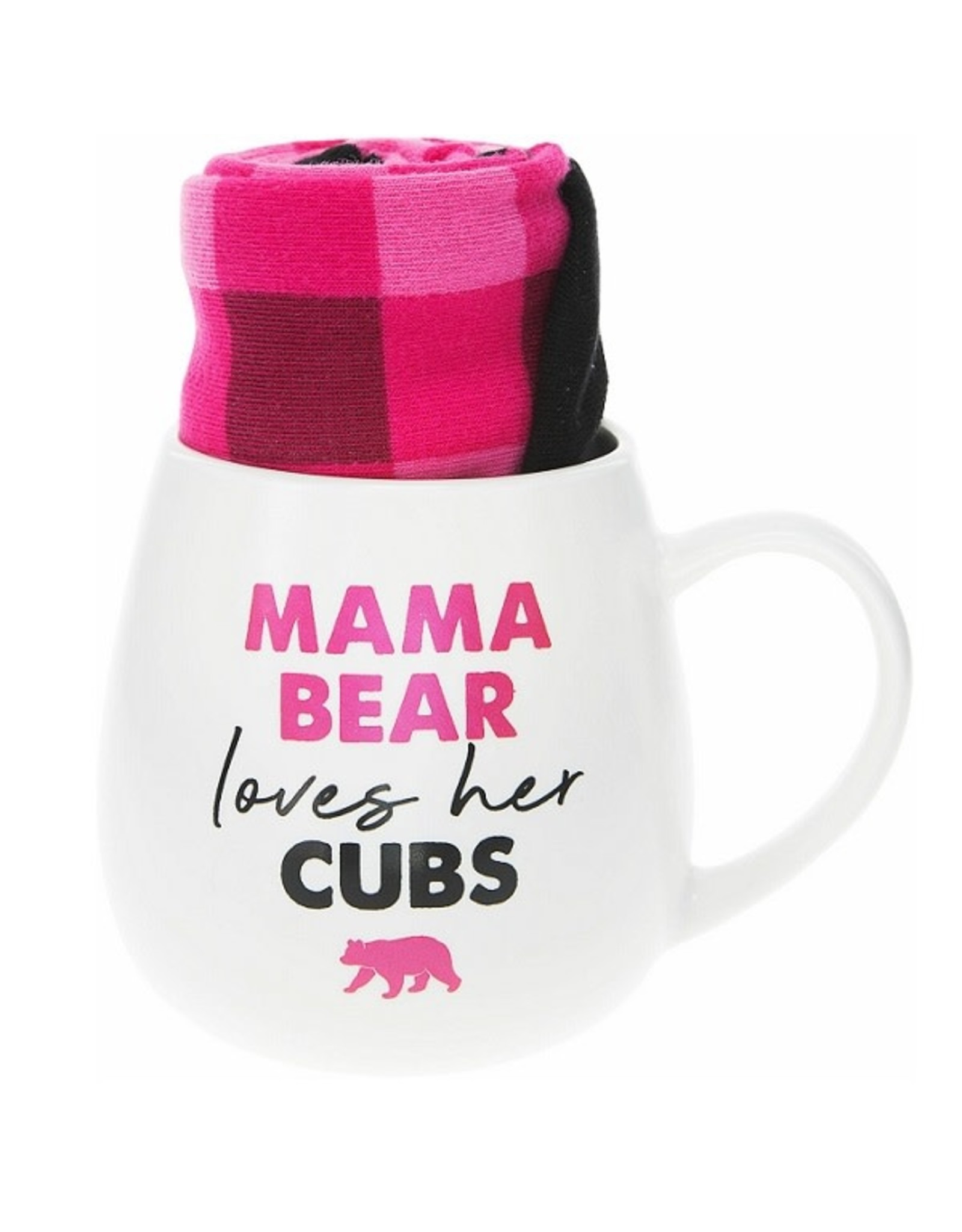 Pavilion Gift MAMA BEAR MUG AND SOCK SET