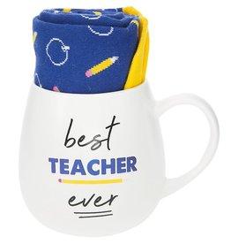 Pavilion Gift TEACHER MUG AND SOCK SET
