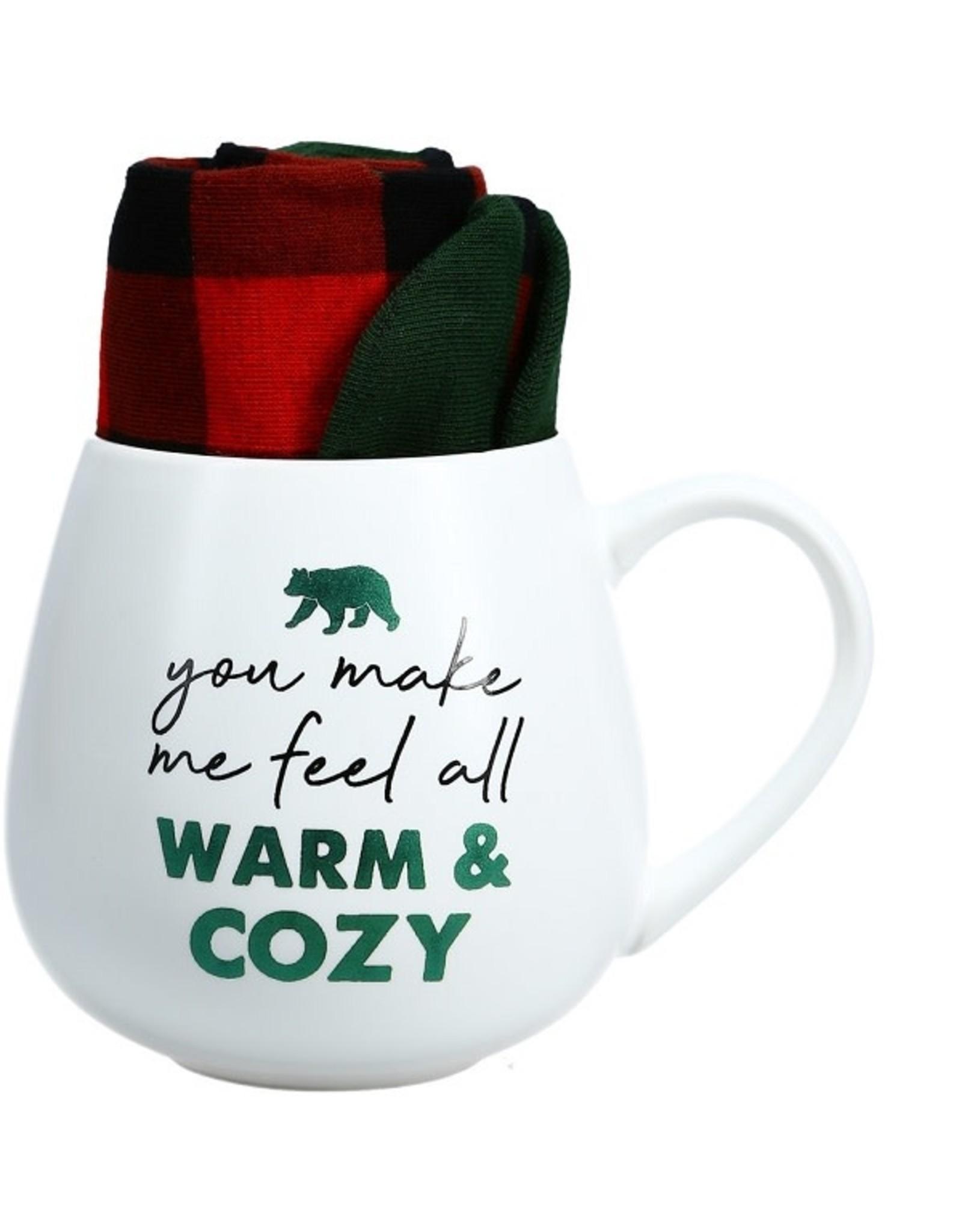 Pavilion Gift WARM COZY MUG AND SOCK SET