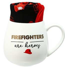 Pavilion Gift FIREFIGHTERS MUG AND SOCK SET