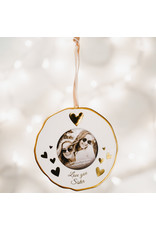 Pavilion Gift SISTER PHOTO FRAME ORNAMENT