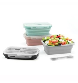 DM Merchandising COLLAPSIBLE LUNCH CONTAINER