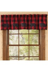 Park Designs BUFFALO CHECK BEAR VALANCE
