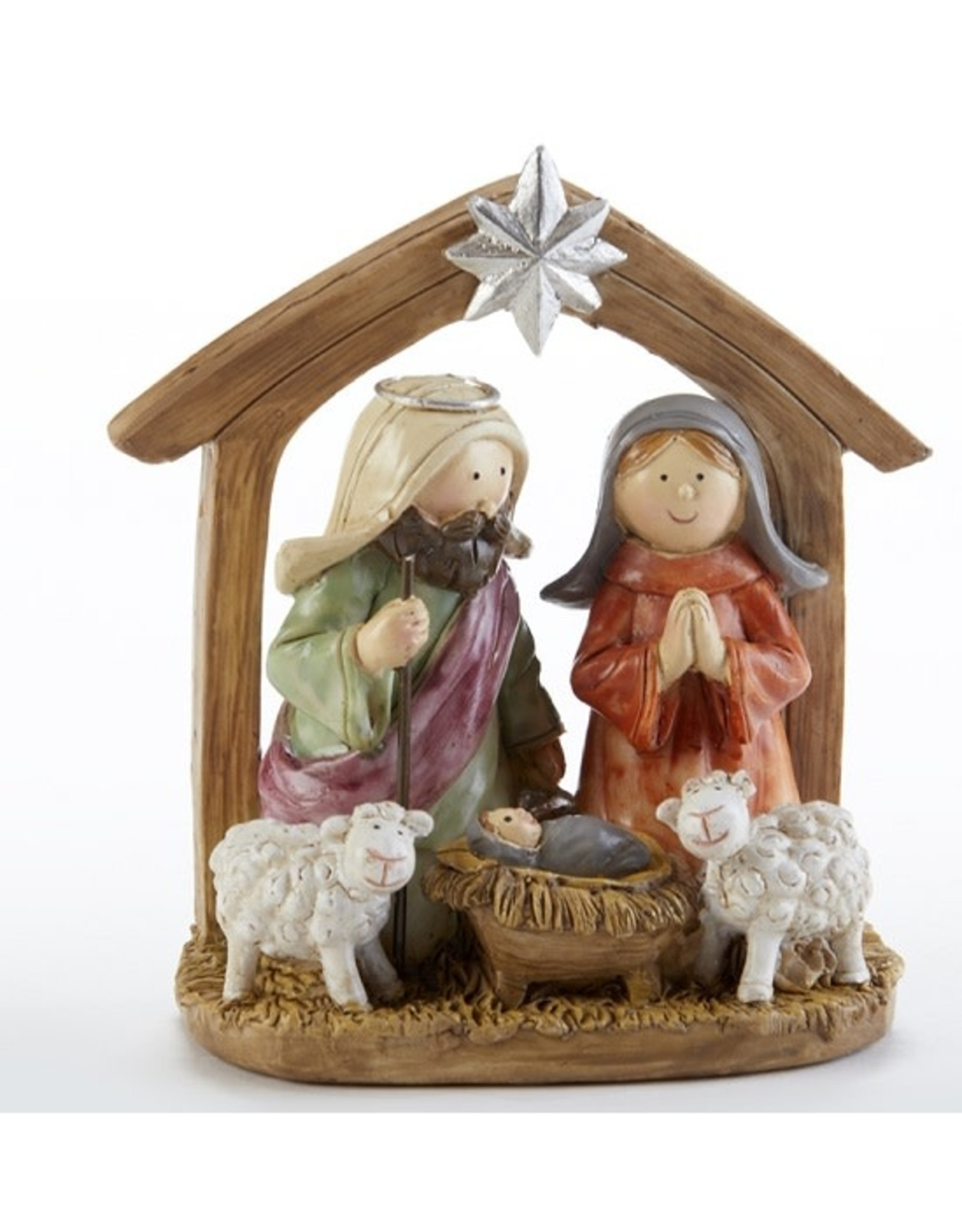 Delton NATIVITY STABLE 4""