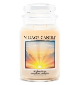 Stonewall Kitchen BRIGHTER DAYS LARGE JAR CANDLE