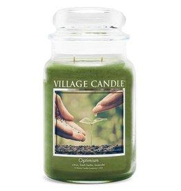 Village Candle OPTIMISM LARGE JAR CANDLE