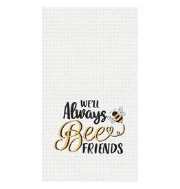 C and F Enterprises ALWAYS BEE FRIENDS KITCHEN TOWEL