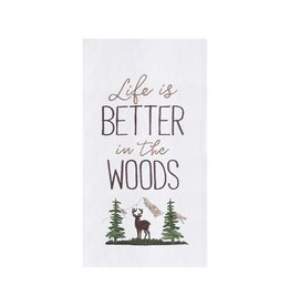 C and F Enterprises BETTER IN THE WOODS KITCHEN TOWEL