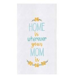 C and F Enterprises HOME WITH MOM KITCHEN TOWEL