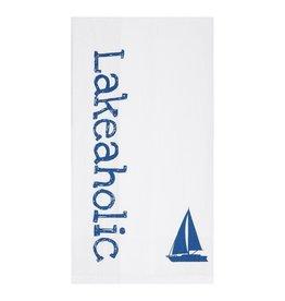 C and F Enterprises LAKEAHOLIC KITCHEN TOWEL
