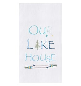 C and F Enterprises OUR LAKE HOUSE KITCHEN TOWEL