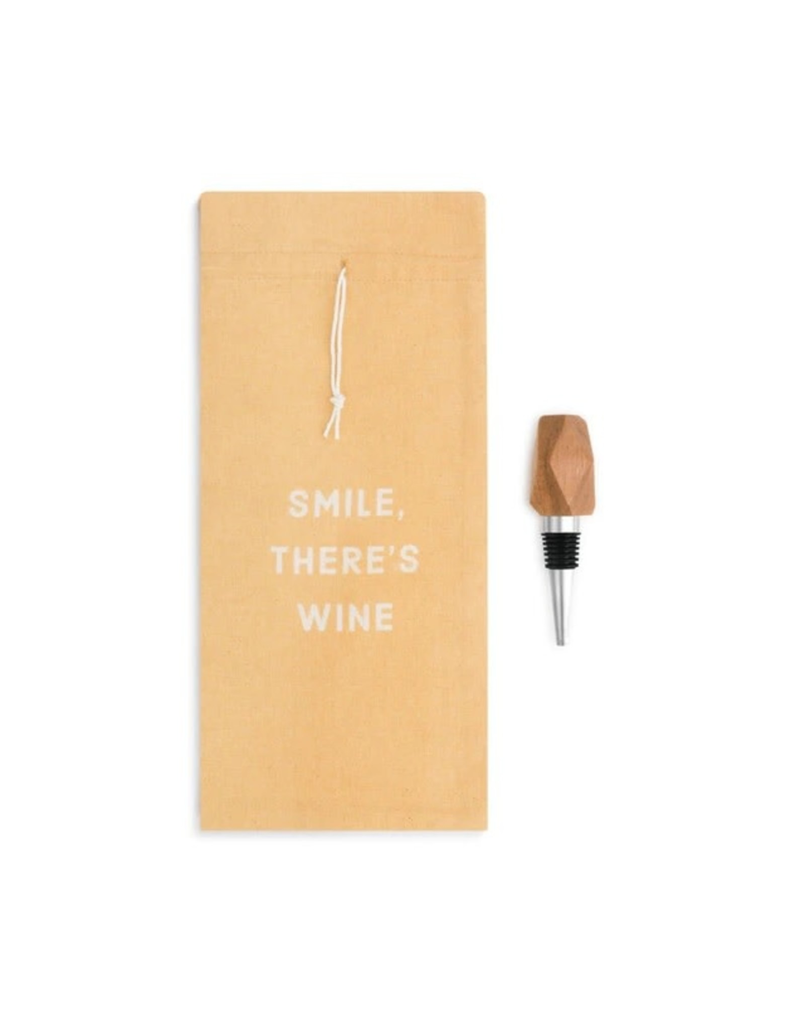Demdaco WINE BOTTLE BAG & STOPPER