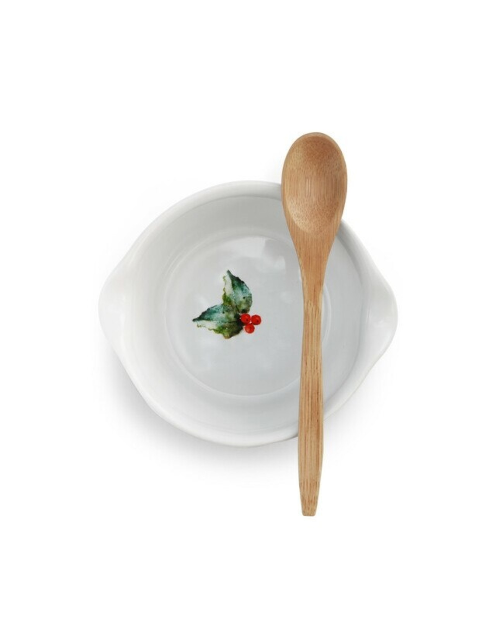 Demdaco CARDINAL AND HOLLY BOWL WITH SPOON