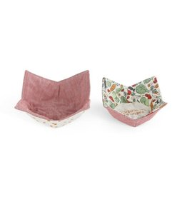 Demdaco HOMEGROWN MICROWAVABLE BOW POT HOLDER SET OF 2