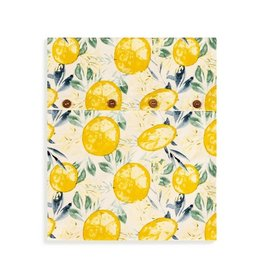 Demdaco LEMON PRINT INFINITY TOWEL