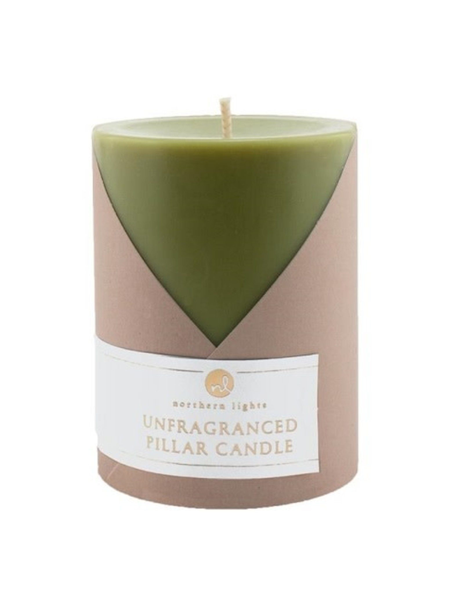 Northern Lights Candles 3x4 UNFRAGRANCED PILLAR CANDLE