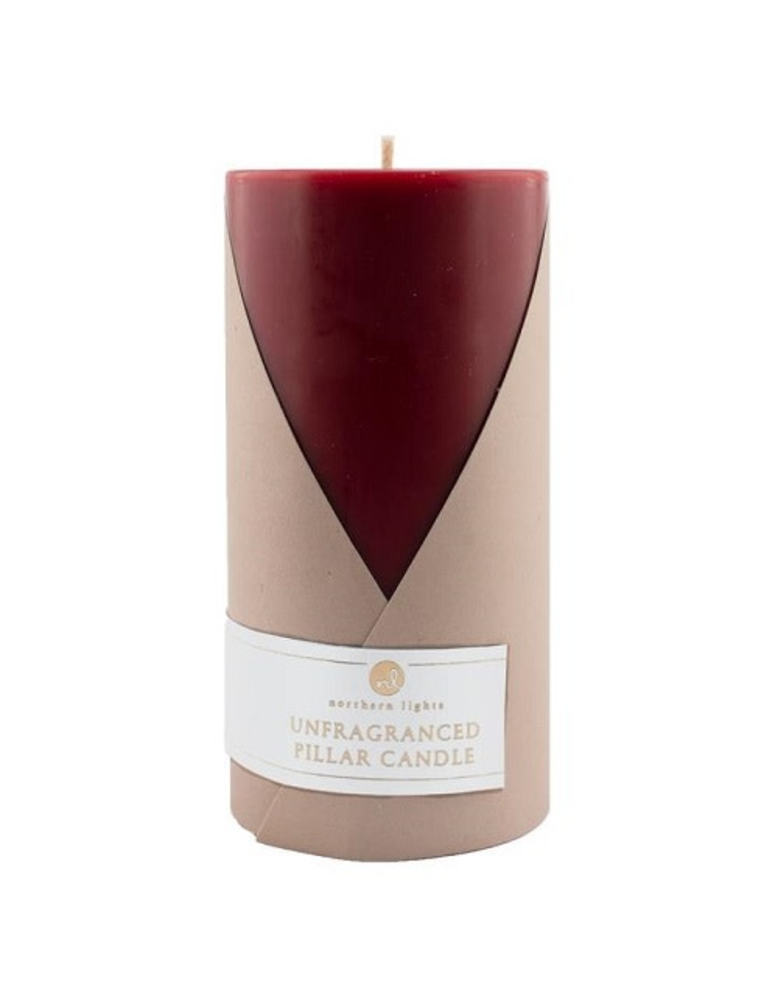 Northern Lights Candles 3X6 UNFRAGRANCED PILLAR CANDLE