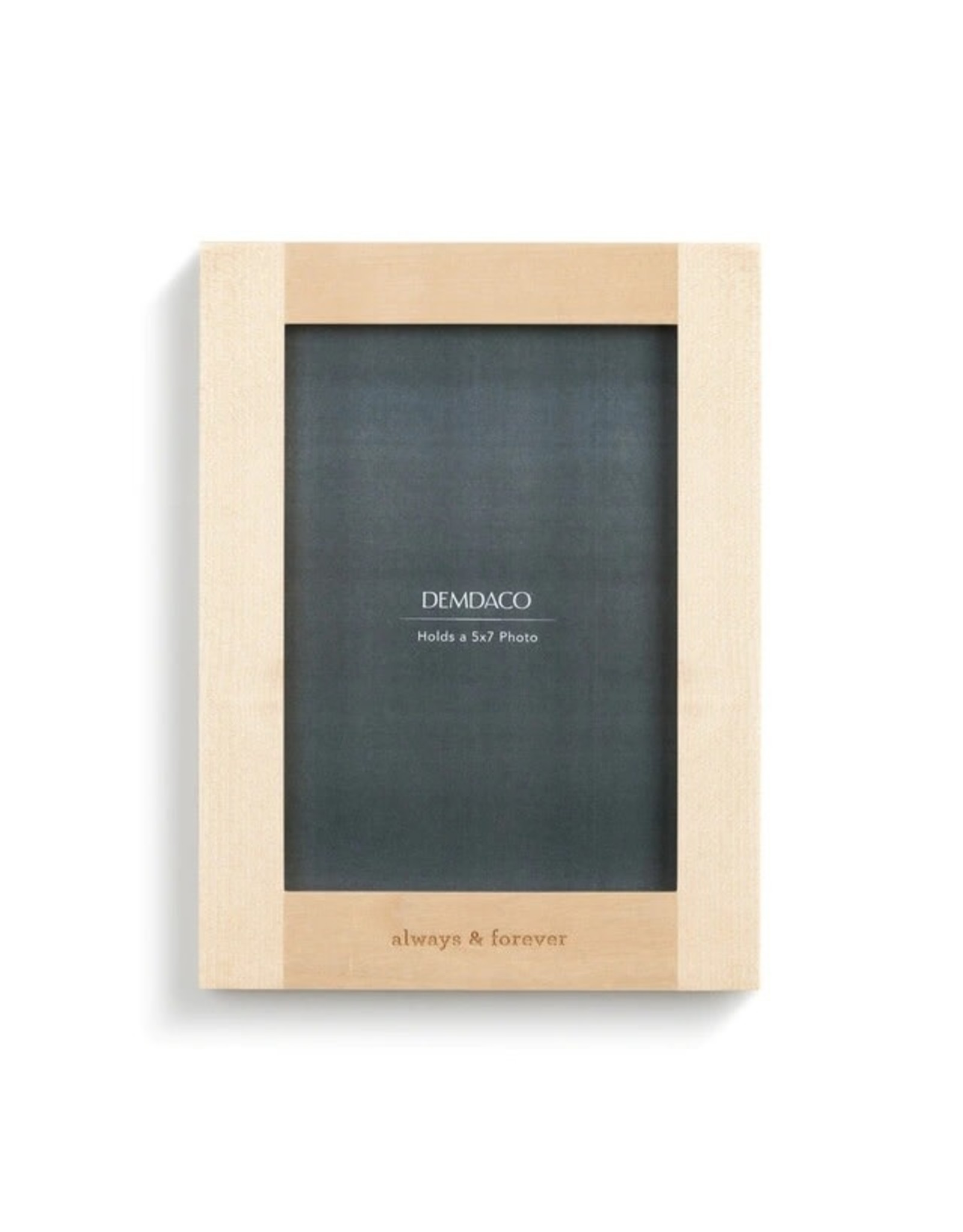 Demdaco ALWAYS & FOREVER WOOD FRAME
