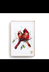 Demdaco CARDINAL PAIR WALL ART