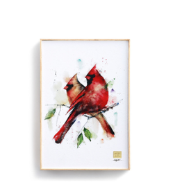 Demdaco CARDINAL PAIR WALL ART