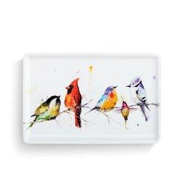 Demdaco LITTLE BIRDS TRAY