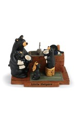 Demdaco LITTLE HELPERS BEAR FIGURINE
