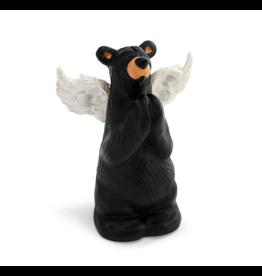 Demdaco PRAYER ANGEL BEAR FIGURINE