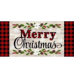 Evergreen CHRISTMAS SENTIMENTS SASSAFRAS MAT