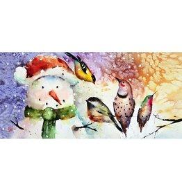 Evergreen SNOWMAN FRIENDS SASSAFRAS MAT