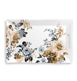 Michel Design Works GARDENIA MELAMINE TRAY