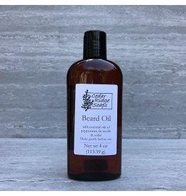 Cedar Ridge Soaps BEARD OIL