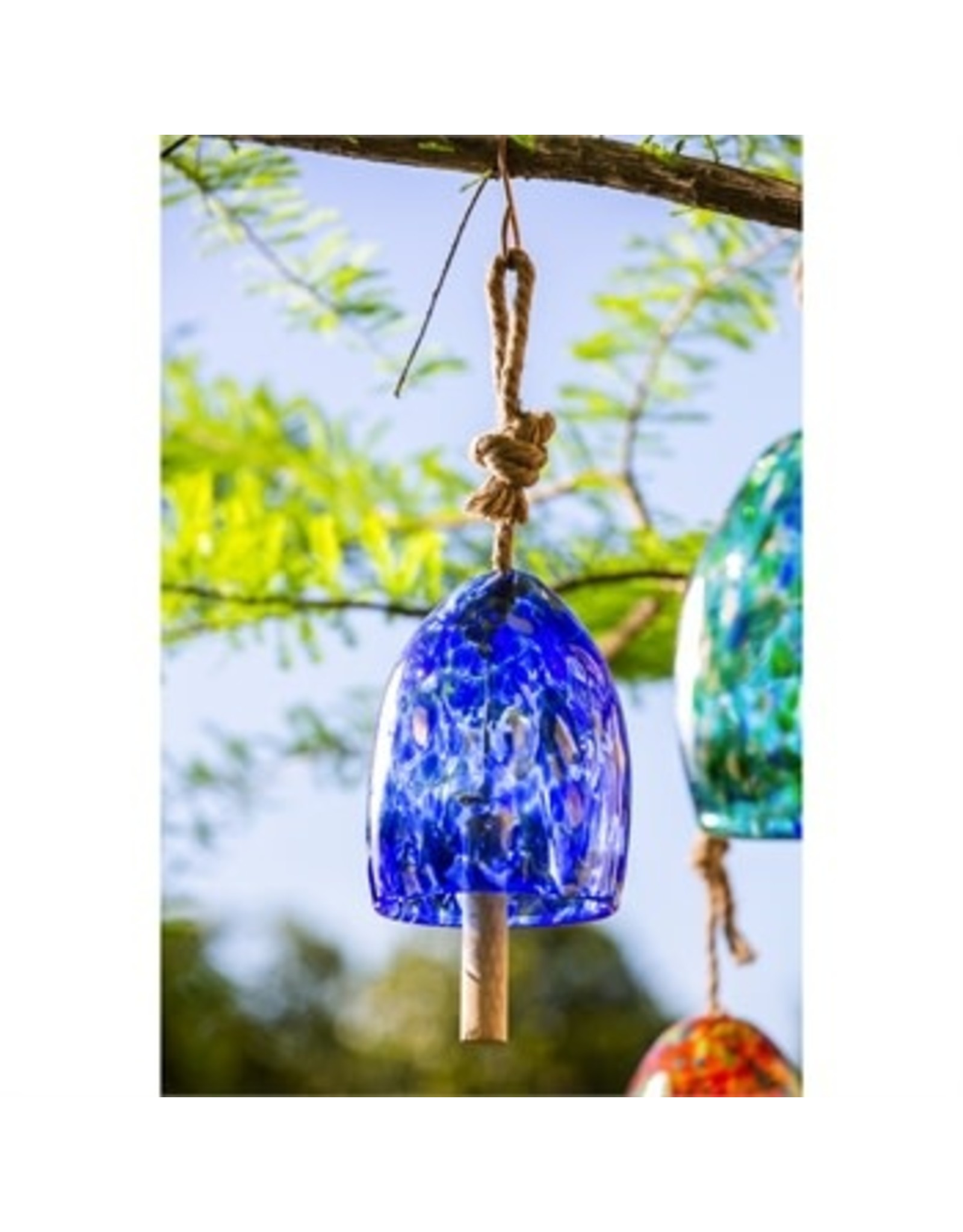 Evergreen ART GLASS BELL CHIME