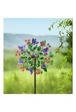 Evergreen BUTTERFLIES WIND SPINNER