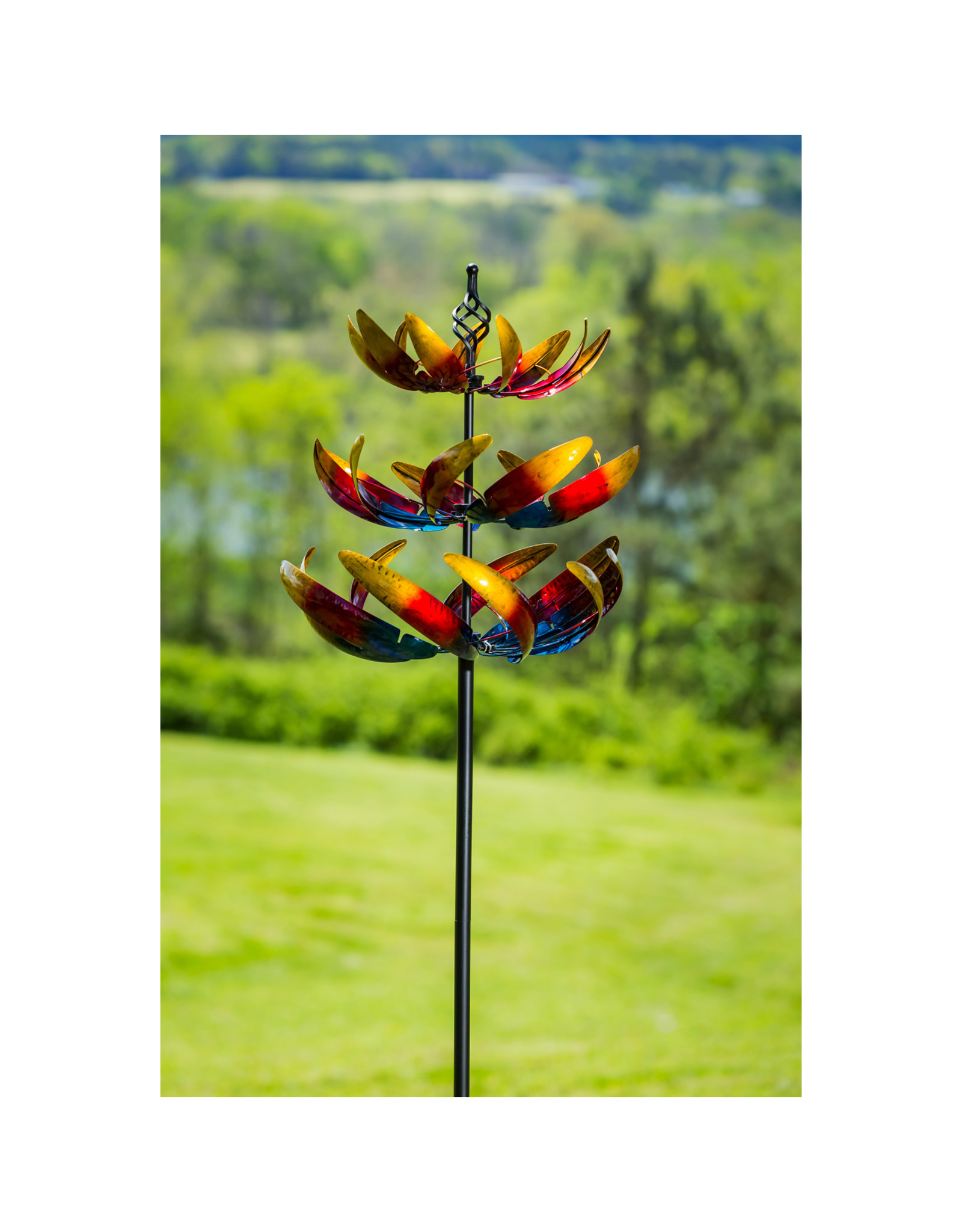 Evergreen OMBRE 3 TIER WIND SPINNER