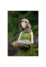 "Evergreen SHERWOOD FERN STATUARY BIRD FEEDER 30"""