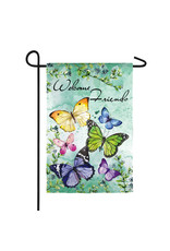 Evergreen BUTTERFLY FRIENDS FLAG