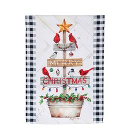 Evergreen COUNTRY CHRISTMAS TREE GARDEN FLAG
