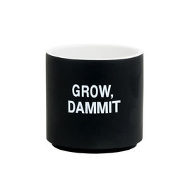 About Face Designs GROW DAMMIT PLANTER