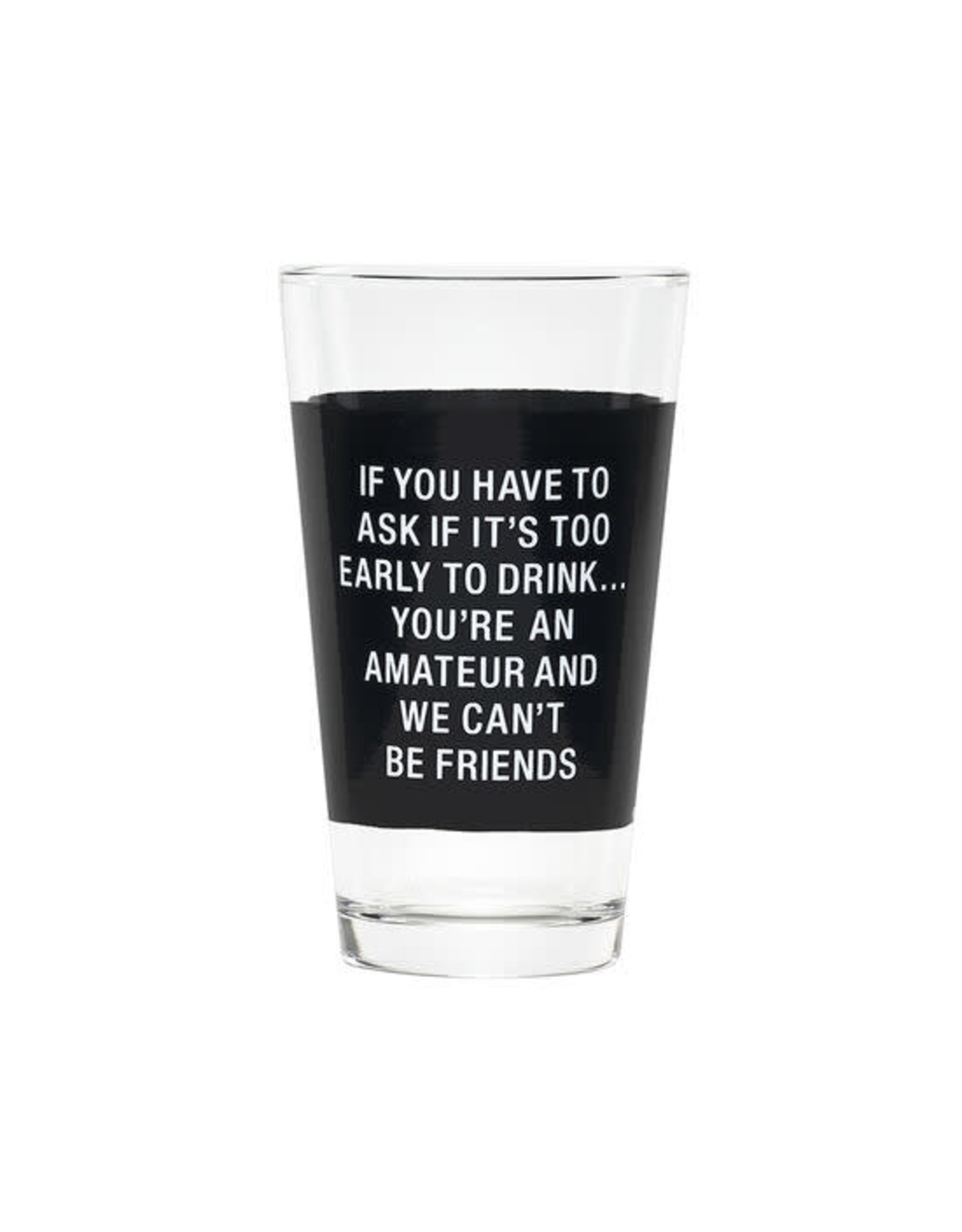 About Face Designs PINT GLASS