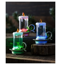 Evergreen COLOR CHANGING LED WATER CANDLE