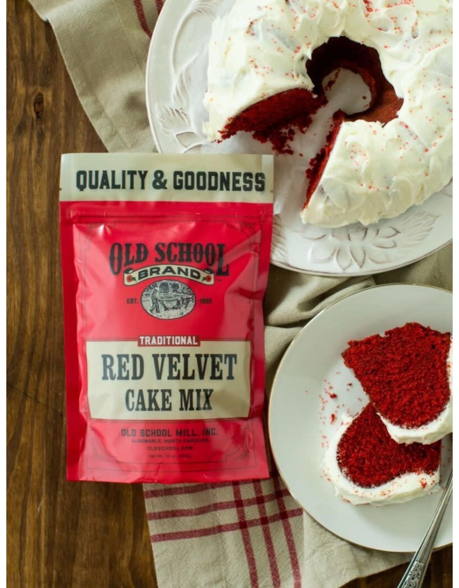Old School RED VELVET CAKE MIX