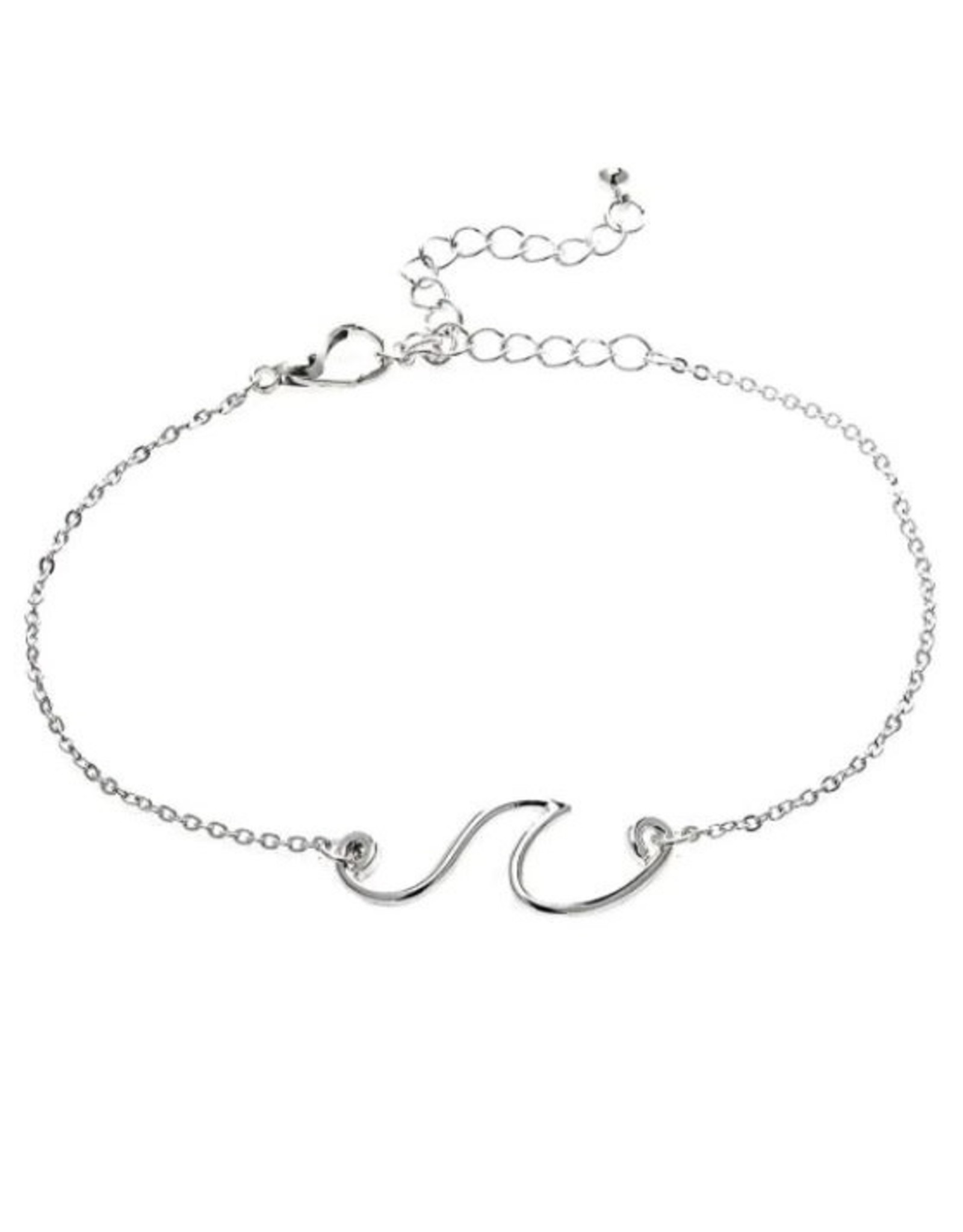 Rain Jewelry WAVE CHAIN SILVER ANKLET